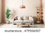 modern interior of living room... | Shutterstock . vector #479506507