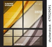 corporate identity template set.... | Shutterstock .eps vector #479529091