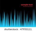 aurora borealis | Shutterstock .eps vector #47953111