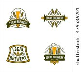 best vintage logo for brewery    | Shutterstock .eps vector #479536201