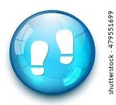 footprint icon | Shutterstock .eps vector #479551699