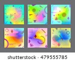 chaotic geometric backgrounds... | Shutterstock .eps vector #479555785