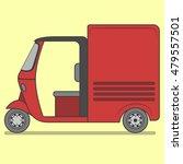 tuktuk box   Shutterstock .eps vector #479557501