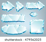 vector ice design elements for... | Shutterstock .eps vector #479562025