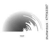 illustration for sound wave.... | Shutterstock .eps vector #479563387