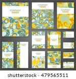 business cards  invitations ... | Shutterstock .eps vector #479565511