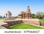 the khajuraho group of... | Shutterstock . vector #479566027