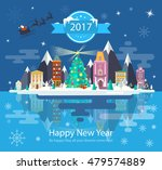 illustration of a happy new... | Shutterstock .eps vector #479574889