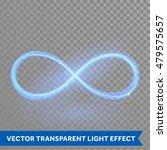 vector blue magic glowing light ... | Shutterstock .eps vector #479575657