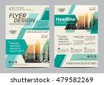 green brochure layout design... | Shutterstock .eps vector #479582269