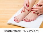 close up on neatly painted...   Shutterstock . vector #479592574