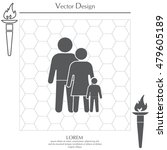 family icon | Shutterstock .eps vector #479605189