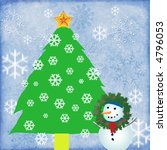 holiday illustration with... | Shutterstock . vector #4796053