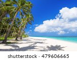 nobody on the beauty beach with ... | Shutterstock . vector #479606665