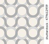 seamless monochrome oriental... | Shutterstock .eps vector #479612959
