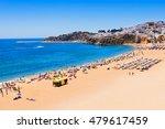 albufeira city beach  algarve... | Shutterstock . vector #479617459