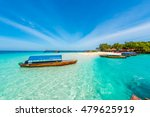 colorful exotic seascape with... | Shutterstock . vector #479625919