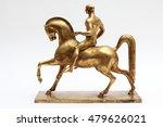 Gold Horse Statue