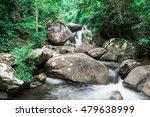 water fall in deep rain forest...   Shutterstock . vector #479638999