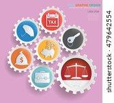 business concept design gear... | Shutterstock .eps vector #479642554