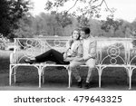 love story  young couple on... | Shutterstock . vector #479643325