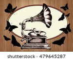 decorative composition with... | Shutterstock . vector #479645287