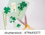 saint patrick's day. shamrock... | Shutterstock . vector #479645377