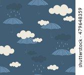 collection of umbrellas ... | Shutterstock .eps vector #479648359