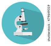 microscope icon . microscope...   Shutterstock . vector #479649319