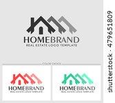 home brand. real estate logo...   Shutterstock .eps vector #479651809
