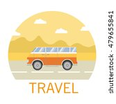 vector flat about a landscape ... | Shutterstock .eps vector #479655841