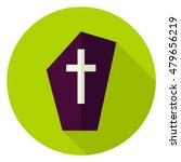 gravestone circle icon. flat... | Shutterstock .eps vector #479656219