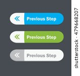 set of vector web interface... | Shutterstock .eps vector #479668207