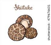 Set Of Shiitake Edible...