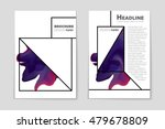 abstract vector layout... | Shutterstock .eps vector #479678809
