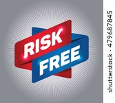 risk free arrow tag sign. | Shutterstock .eps vector #479687845