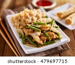 chinese greenbean and chicken... | Shutterstock . vector #479697715