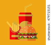 fast food vector. a group of...   Shutterstock .eps vector #479715151
