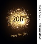 new year card with glittering... | Shutterstock .eps vector #479715241