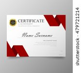 certificate template awards... | Shutterstock .eps vector #479721214