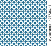 seamless abstract wave pattern. | Shutterstock .eps vector #479726149