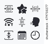 archive file icons. compressed... | Shutterstock .eps vector #479733277