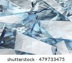 abstract blue glass background | Shutterstock . vector #479733475