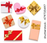 vector gift box icons | Shutterstock .eps vector #479735497