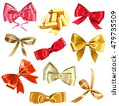 vector bow icons | Shutterstock .eps vector #479735509