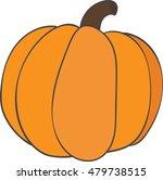 orange pumpkin   Shutterstock .eps vector #479738515