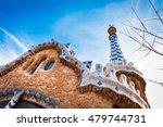 inside the park guell barcelona   Shutterstock . vector #479744731