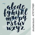 modern hand written calligraphy ... | Shutterstock .eps vector #479747989
