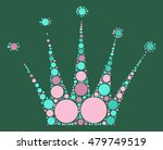 imperial crown shape vector... | Shutterstock .eps vector #479749519