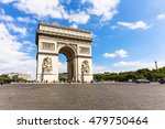 arc de triomphe at the top of... | Shutterstock . vector #479750464